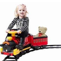 Rollplay Steam Train Ride-on