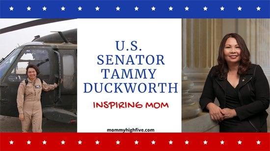 U.S. Senator Tammy Duckworth Inspiring Mom