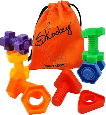 Skoolzy Jumbo Nuts and Bolts