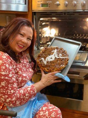 Tammy Duckworth Cooking