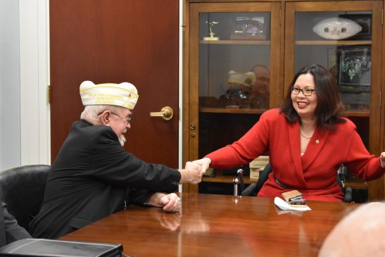 Tammy Duckworth and Fellow Veteran