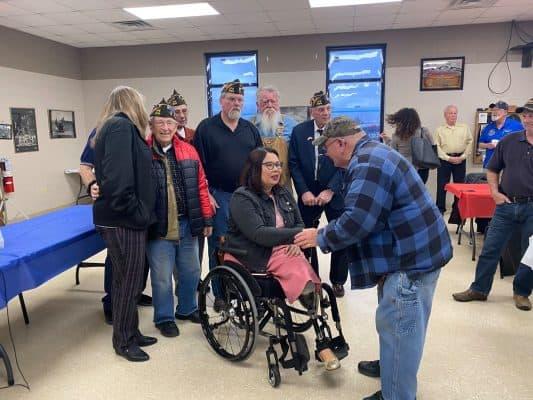 Tammy Duckworth Meets Other Veterans