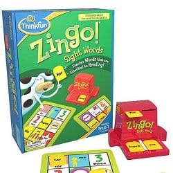 Zingo Sight Words Game