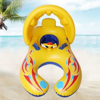 Punada Baby Pool Float with Canopy