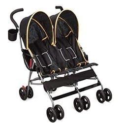 Delta Children City Street Tandem Umbrella Stroller
