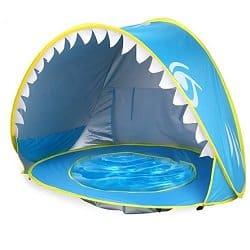 Pop-Up Shark Pool and Tent