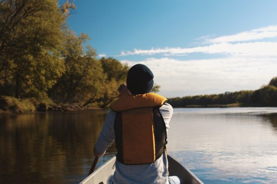 Canoeing life jacket for teens