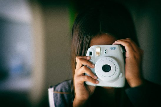 Creative photos with instant camera