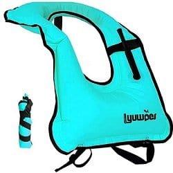 Lyuwpes Inflatable Snorkel Vest