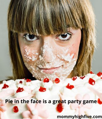 Pie in the Face virtual party game