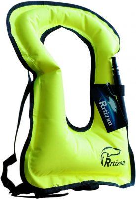 Rrtizan Inflatable Snorkel Vest