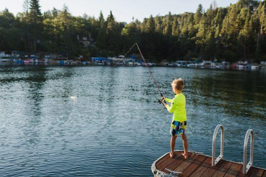 Beginner fishing pole for kids