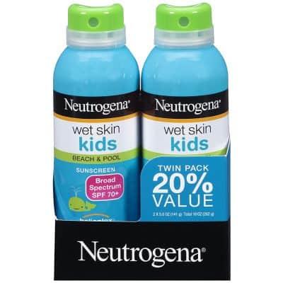 Nutragena Wet Skin Kids Spray