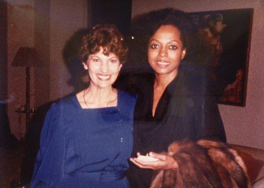 Candance Lightner and Diana Ross