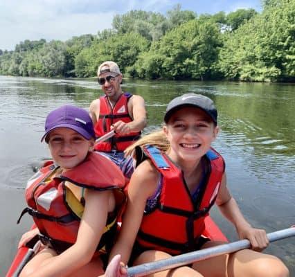 Andrea Dow family vacation