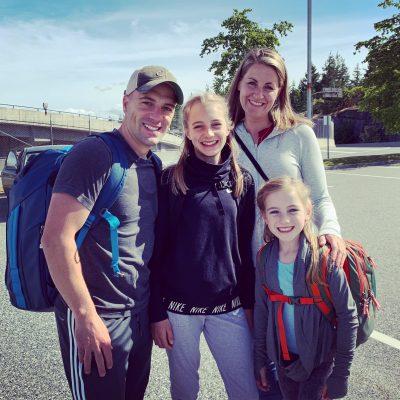 Andrea Dow family