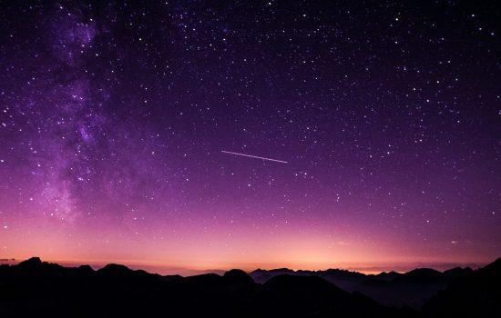 Virtual scavenger hunt night sky