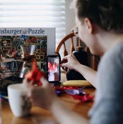 Virtual scavenger hunt sharing
