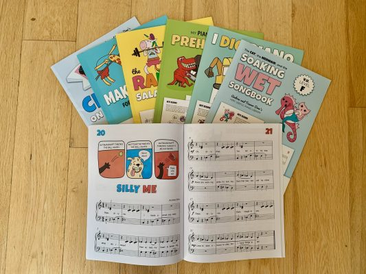 WunderKeys Method Books