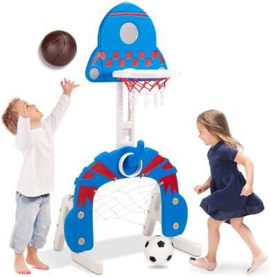 Best Choice Products 3-in-1 Toddler Sports Activity Center