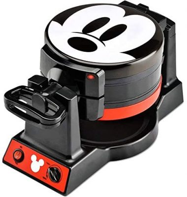 Double Mickey Mouse Flip Waffle Maker