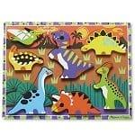 Melissa & Doug Wooden Dinosaur Puzzle