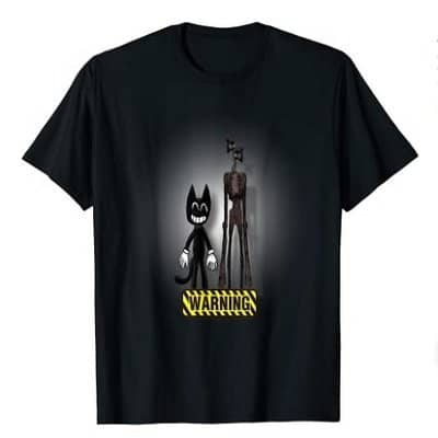 Siren Head Warning T-shirt