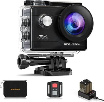 Apexcam 4K Action Camera