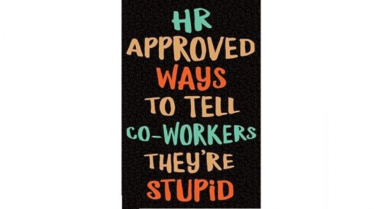 HR Approved Ways to Tell Co-workers They Are Stupid