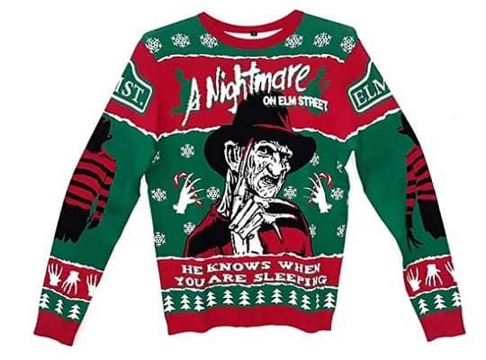 Nightmare on Elm Street Christmas Sweater
